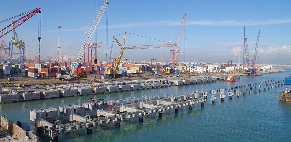 Shipyard and dry-docking facilities