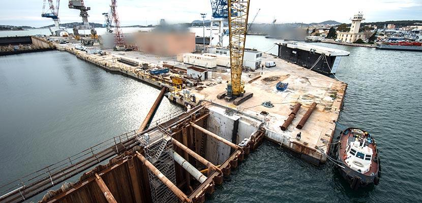 Dry dock Vauban