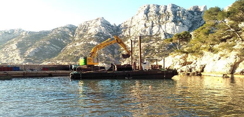Port of Sormiou Dredging