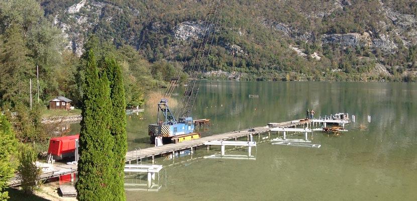 Aménagement stade d'Aviron – lac d'Aiguebelette