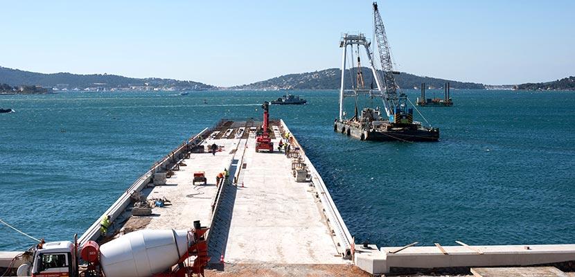 FREMM Esid wharf – CA1 and CA2